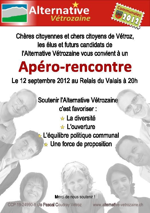Apéro-rencontre 2012